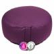 Възглавничка  от био памук ,за медитация- тъмновиолетова